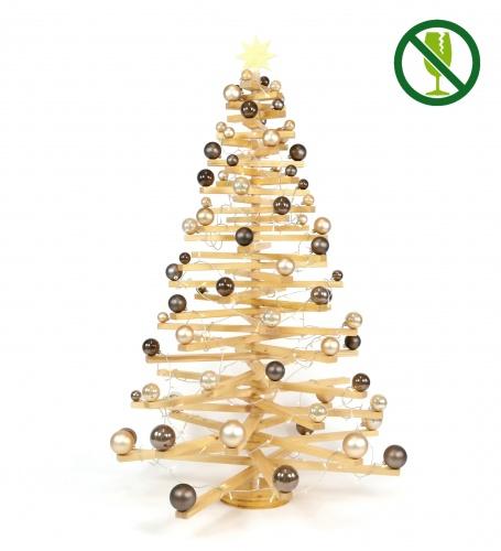 XL-Holzweihnachtsbaum LINDA (bruchsicher)
