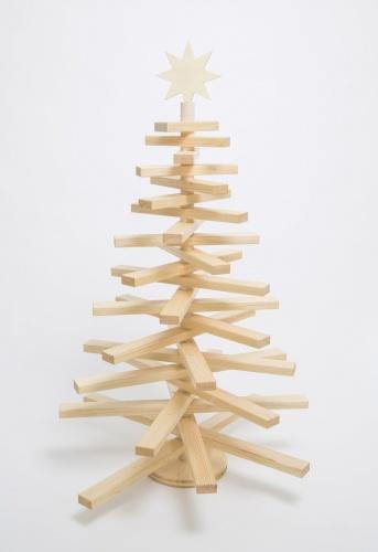 L-Holzweihnachtsbaum zum Selberschmücken