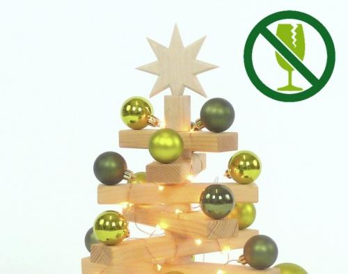 M-Holzweihnachtsbaum NATURO (bruchsicher)