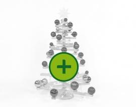 XL-Ergänzungsset für L-Bäume (bruchsicher, alle Farben)